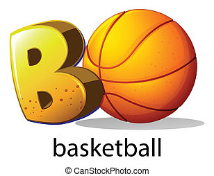 basquetebol, b, letra