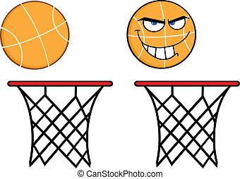 basquetebol, caráteres, cobrança