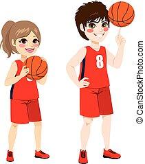 basquetebol, crianças