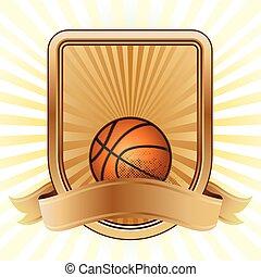basquetebol, desporto, projete elemento