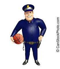 basquetebol, polícia