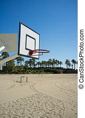 basquetebol, praia