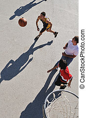 basquetebol, rua
