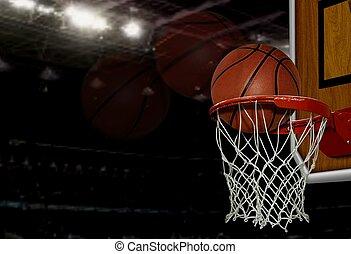 basquetebol, tiro