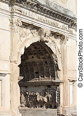 Basreliefs in the Arch of Titus