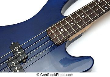 Bass Guitar Closeup 1