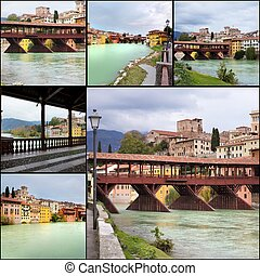 Bassanno del Grappa, Veneto, Italy - Beautiful view on the...