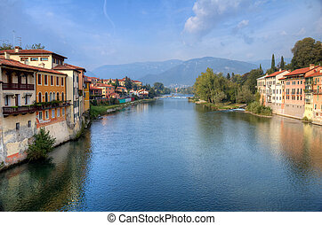 Bassano del Grappa Brenta river - Overview of the river ...