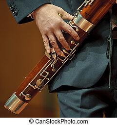 bassoonist on wind music chamber music - bassoonist on...