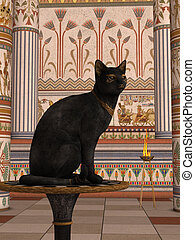 BAST - Bastet or Bast is the name commonly used by scholars...