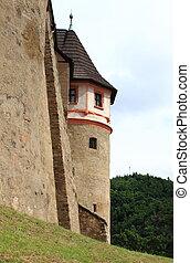 Bastion of Loket castle, Czech Republic