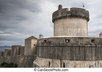 Bastion - The famous bastion of dubrovnik in croatia