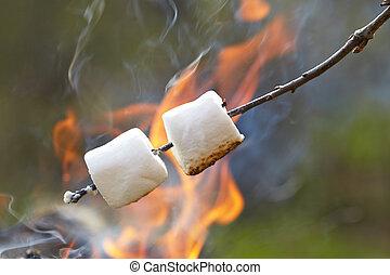 bastone, marshmallow