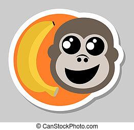bastone, scimmia