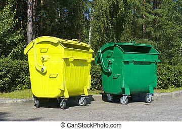 basura, contenedores
