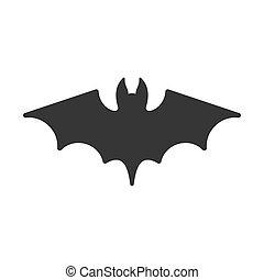 Bat Icon. Vector