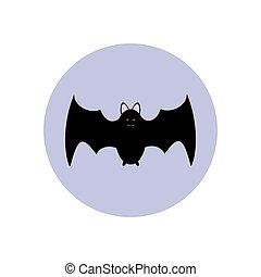 Bat illustration vector