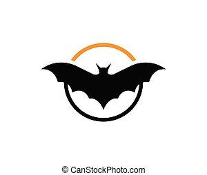 Bat logo  and symbols template - Bat logo template