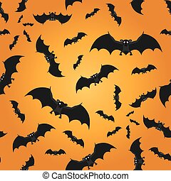 Bat seamless pattern background