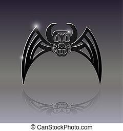bat., tattoo., zeichen
