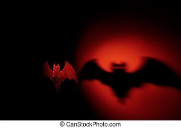 bat veille toussaint, terrible, ombre