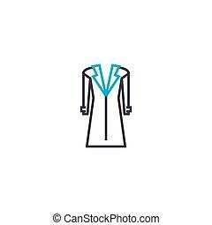 bata, pelota, contorno, ilustración, señal, símbolo, golpe, vector, delgado, icon., línea, concept., lineal