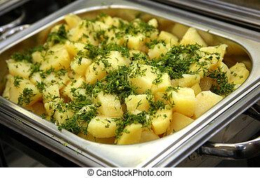 batata cozinhada