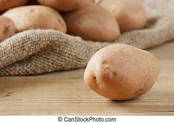 batatas, pilha