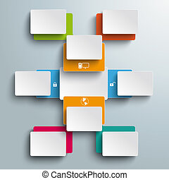 Batched Colored Bevel Rectangles Opened Options