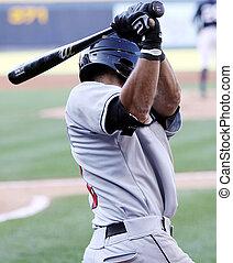 bateador del béisbol, balanceo