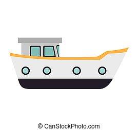 bateau, bateau cargaison