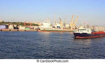 bateau, cargaison
