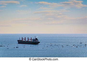 bateau, cargo