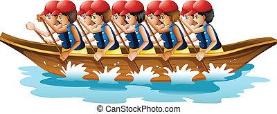 bateau course
