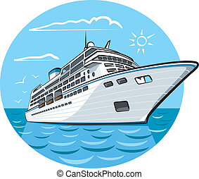 bateau, croisière luxe
