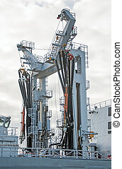 bateau, equipment., auxiliary, naval