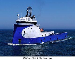 bateau, fourniture, mer, 14a