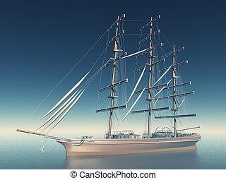 bateau, historique
