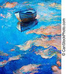 bateau, mer
