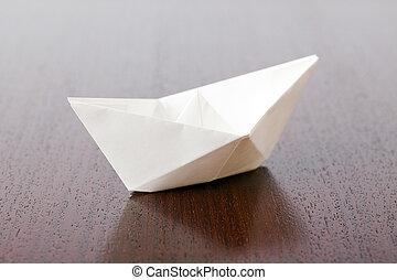 bateau papier