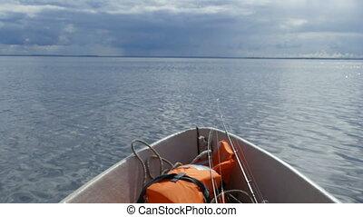 bateau, peche, marine