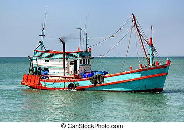 bateau, peche