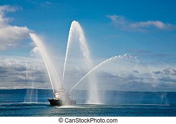 bateau-pompe