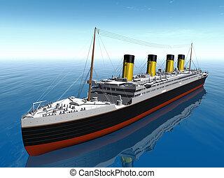 bateau, titanic