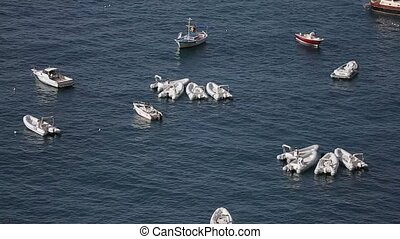 bateaux, mer