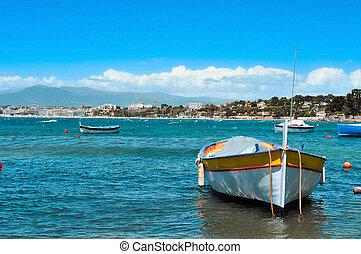 bateaux, peche, côte azur, france