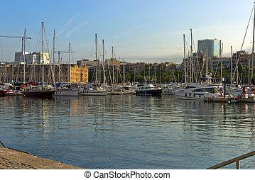 bateaux, port
