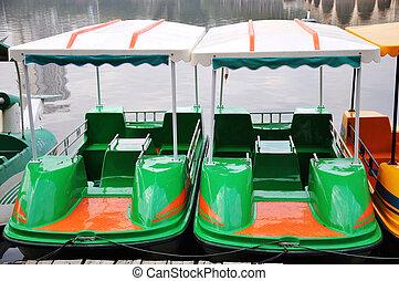 bateaux, tour