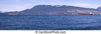 bateaux, vancouver, port