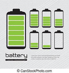 batería, cargamaento